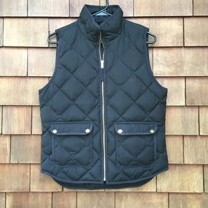 J. Crew Excursion Quilted Down Puffer Vest S